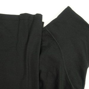 Spanx Black Nylon Spandex Leggings Size XL